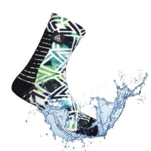 chaussette run-print de veraji étanche