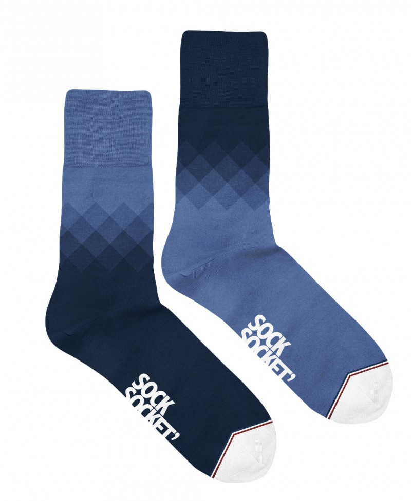 """chaussettes dépareillées Sock Socket """" Les Michel"""" 100% made in France"""